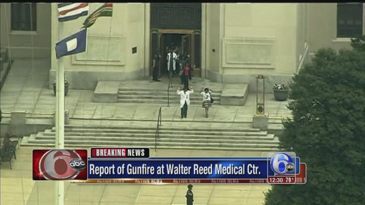 VIDEO: Report of gunfire at Walter Reed Medical Center