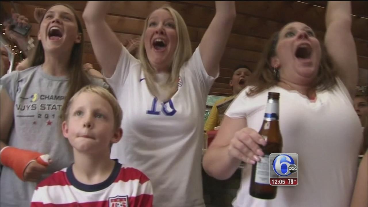 VIDEO: Carli Lloyd?s hometown celebrates World Cup win