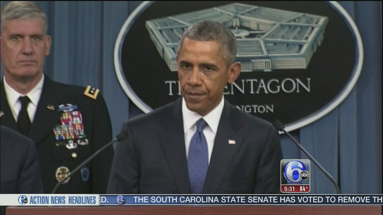 VIDEO: Obama: Fight against ISIS progressing, but still a long slog