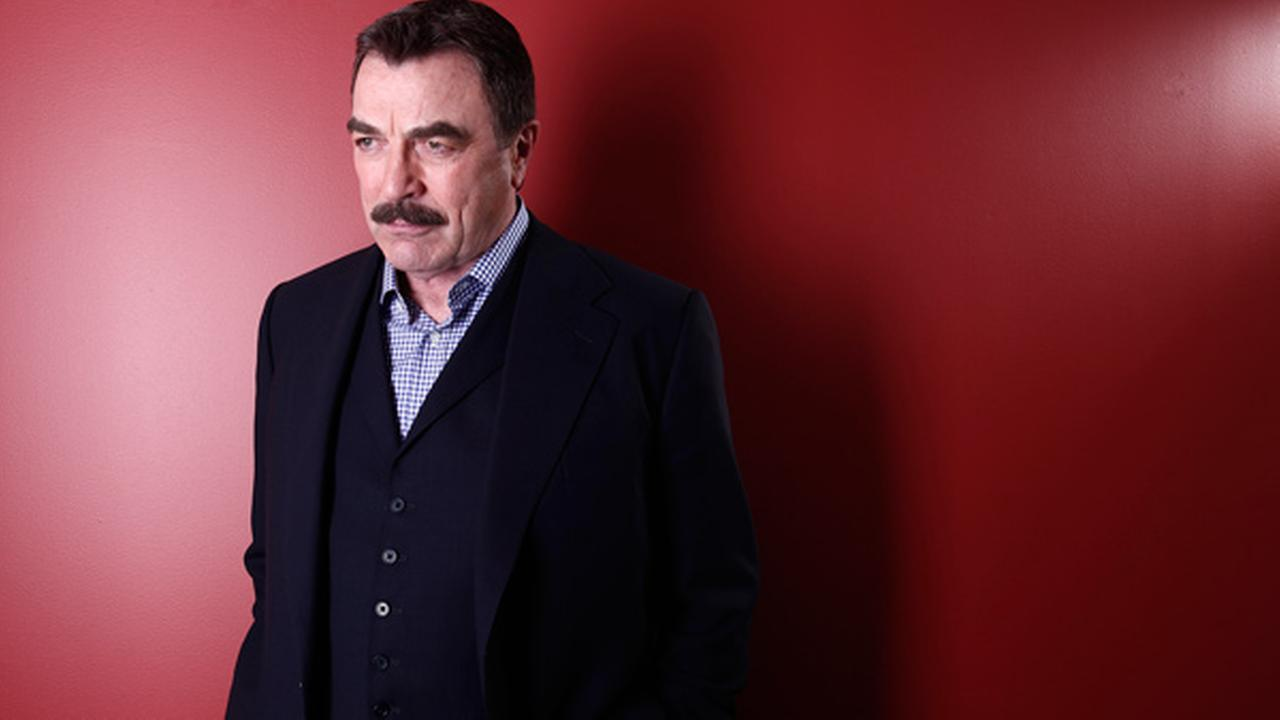 Actor Tom Selleck poses for a portrait Mar. 21, 2012 in New York.