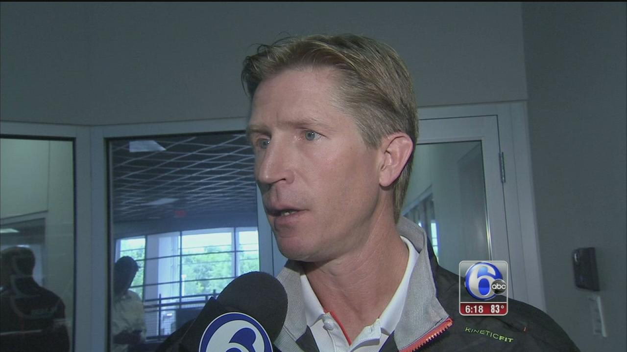 VIDEO: High hopes for new Flyers coach