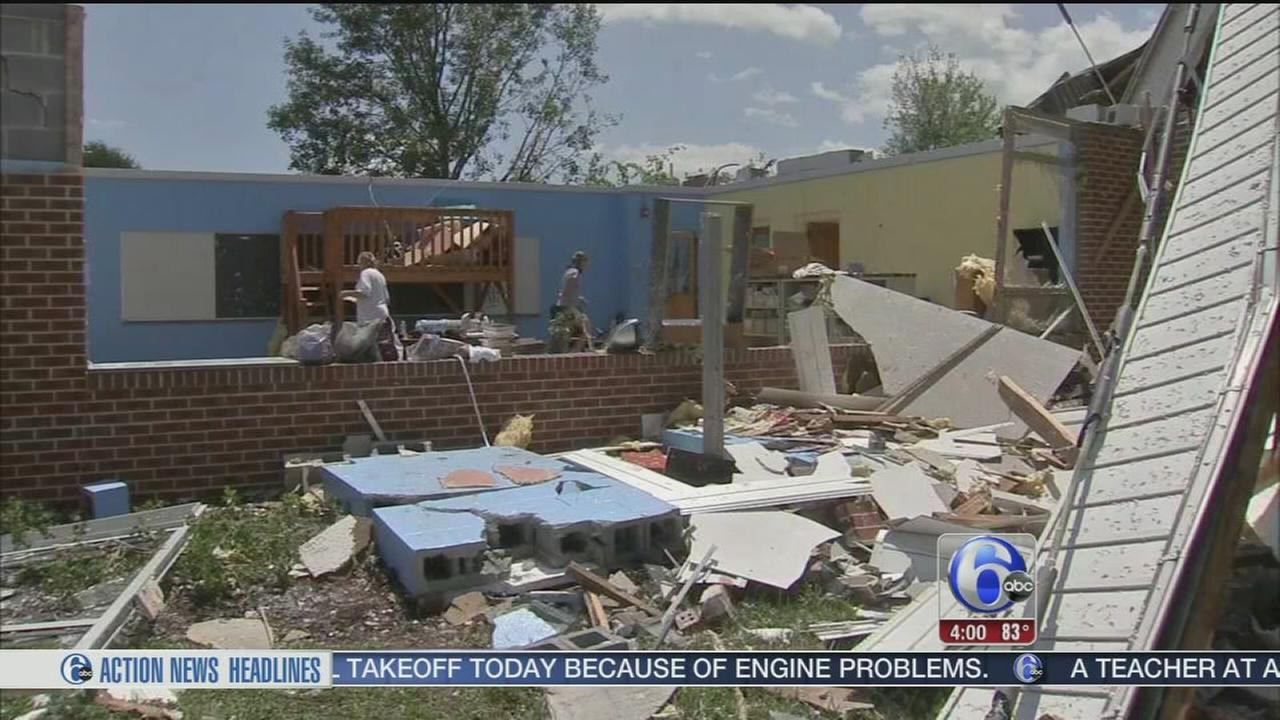 VIDEO: Tornado confirmed in Berks County
