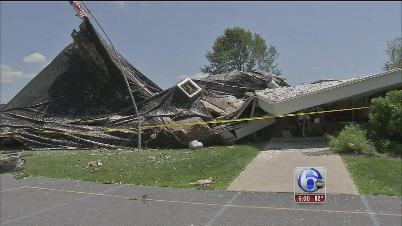 NWS confirms tornado in Berks County