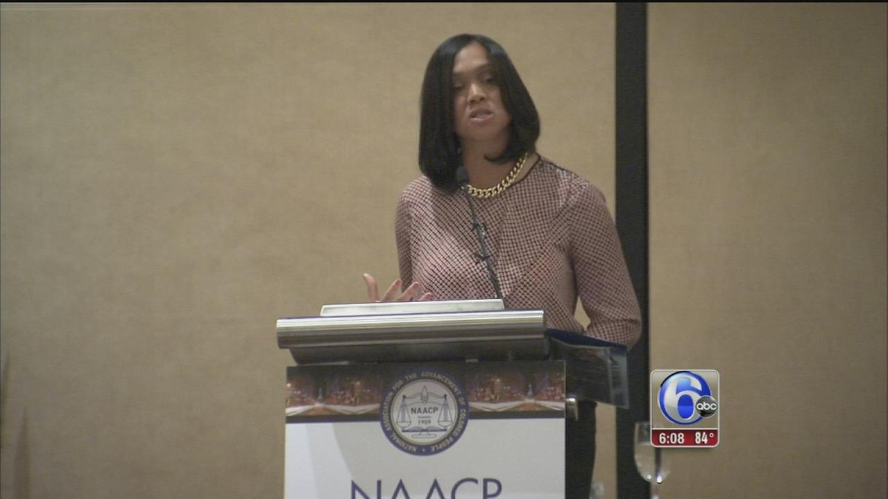VIDEO: Baltimore State Attorney speaks at NAACP convention