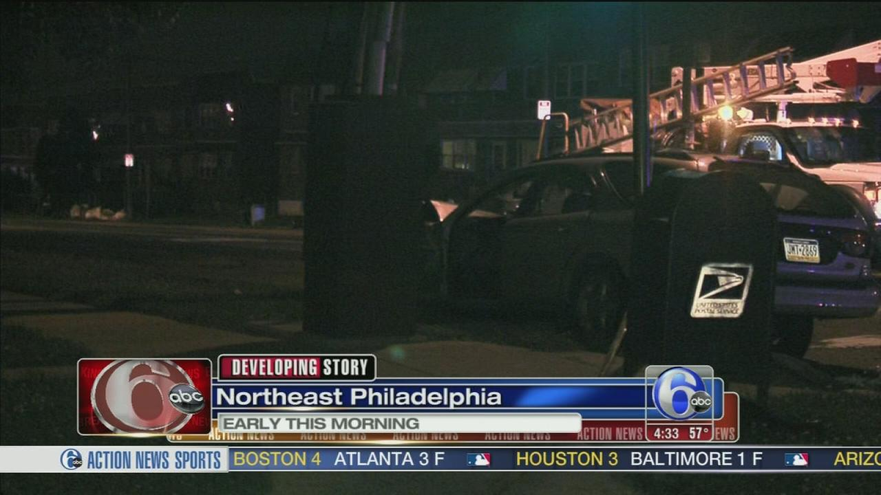 Car Accident On Frankford Ave