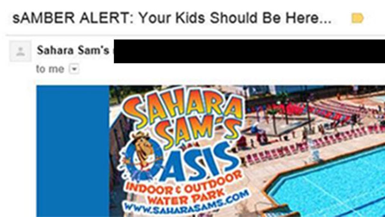 Sahara Sams sAMBER ALERT
