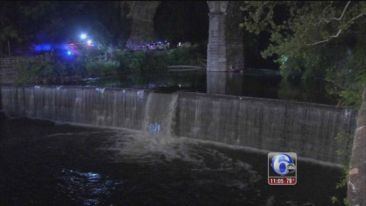 VIDEO: Body of fisherman pulled from Wissahickon Creek
