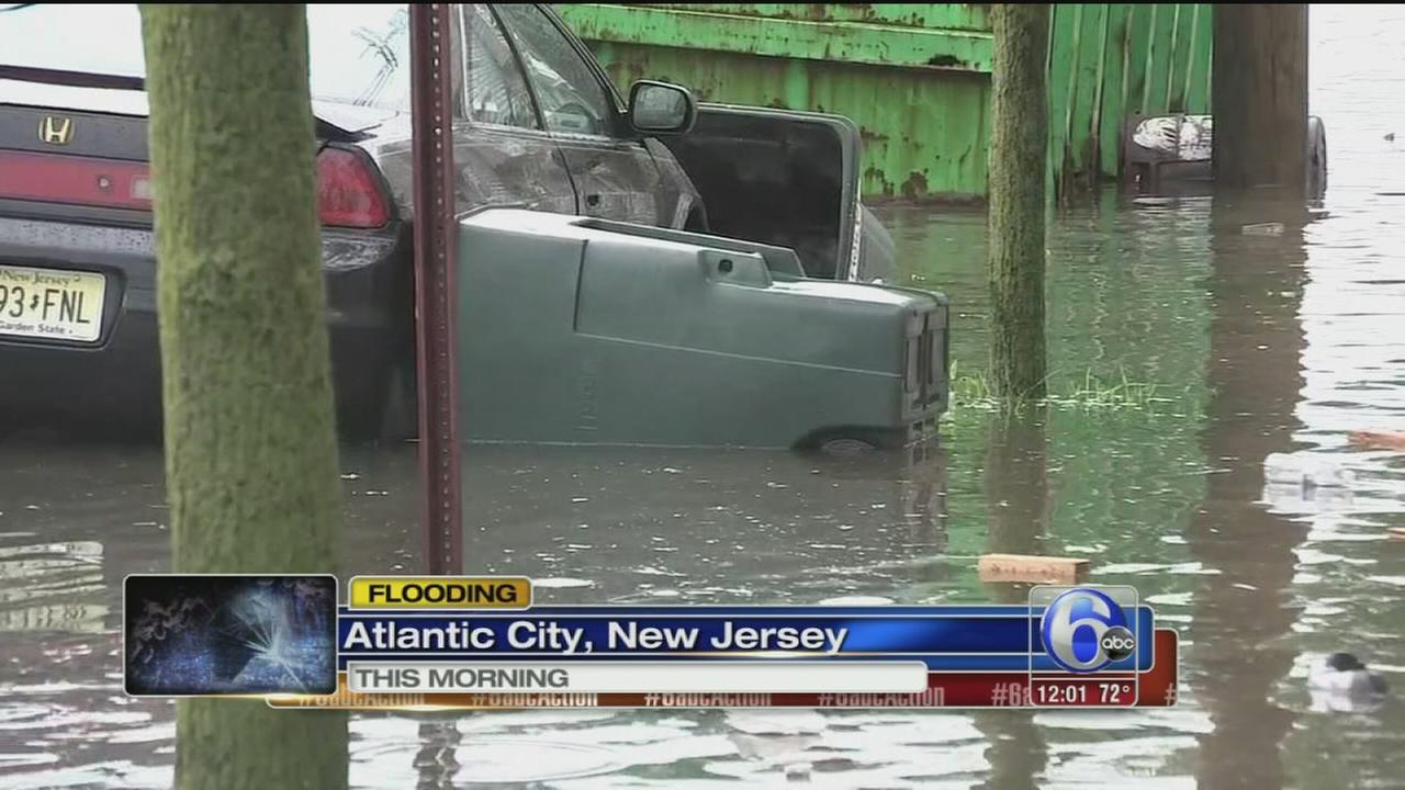 VIDEO: NJ flooding