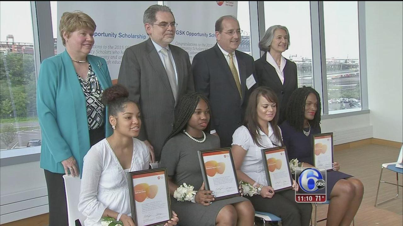 VIDEO: 4 students awarded GSK Opportunity Scholarship