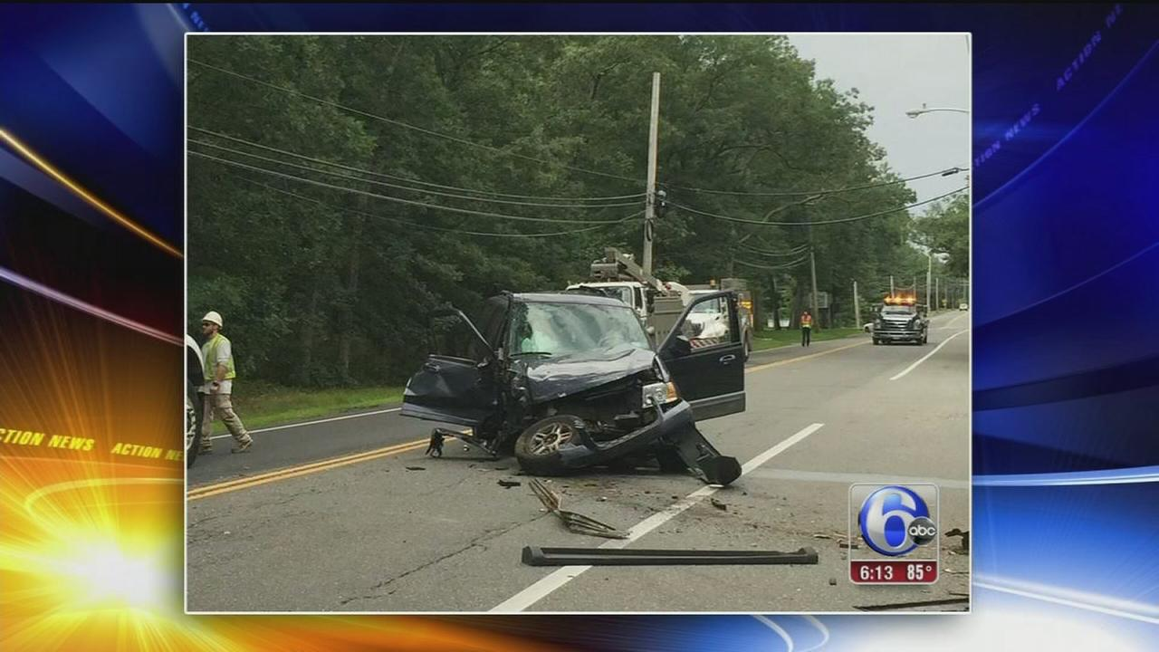 VIDEO: Teen gets DUI after crashing into utility pole in NJ