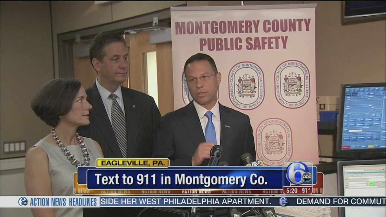9-1-1 emergency texting in Montgomery County.