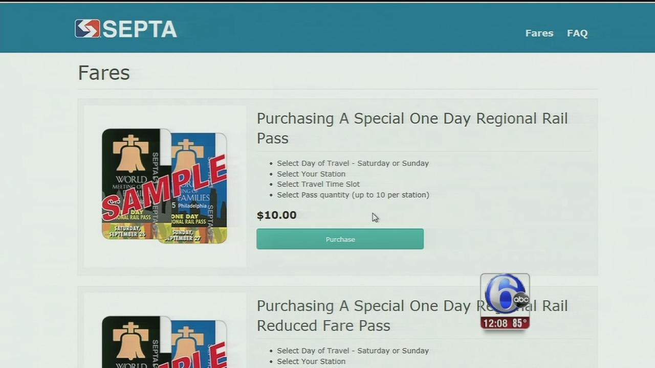 VIDEO: SEPTA to address pope transit pass problems