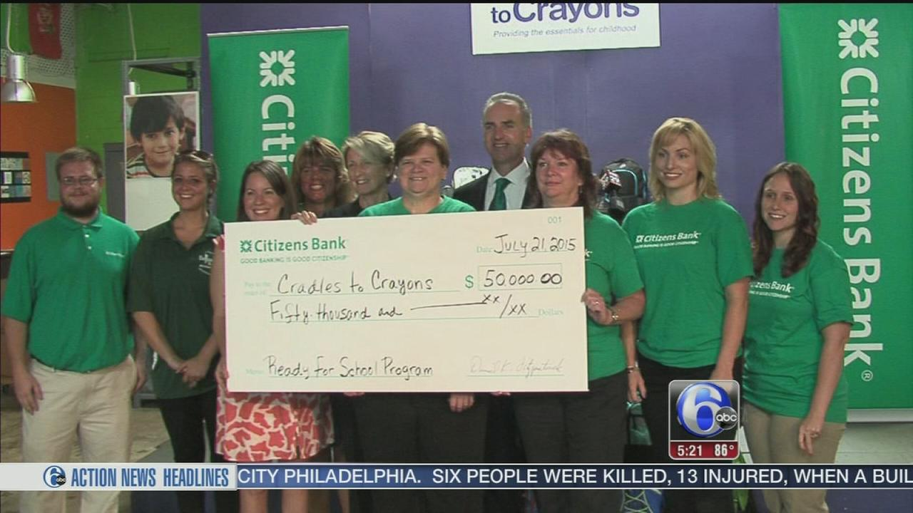 Citizens bank kicks off its back to school initiative