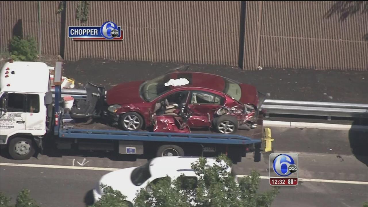 VIDEO: Several injured in I-295 crash
