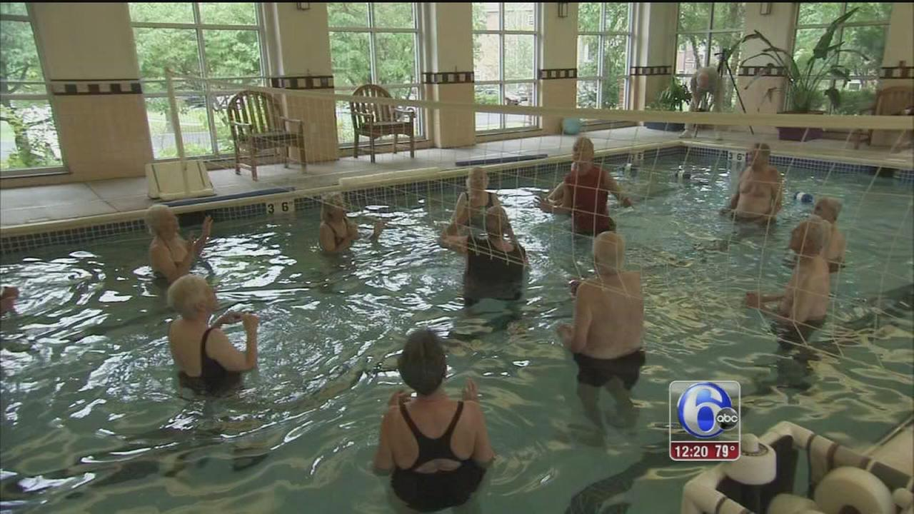 VIDEO: Art of Aging: Water Volleyball