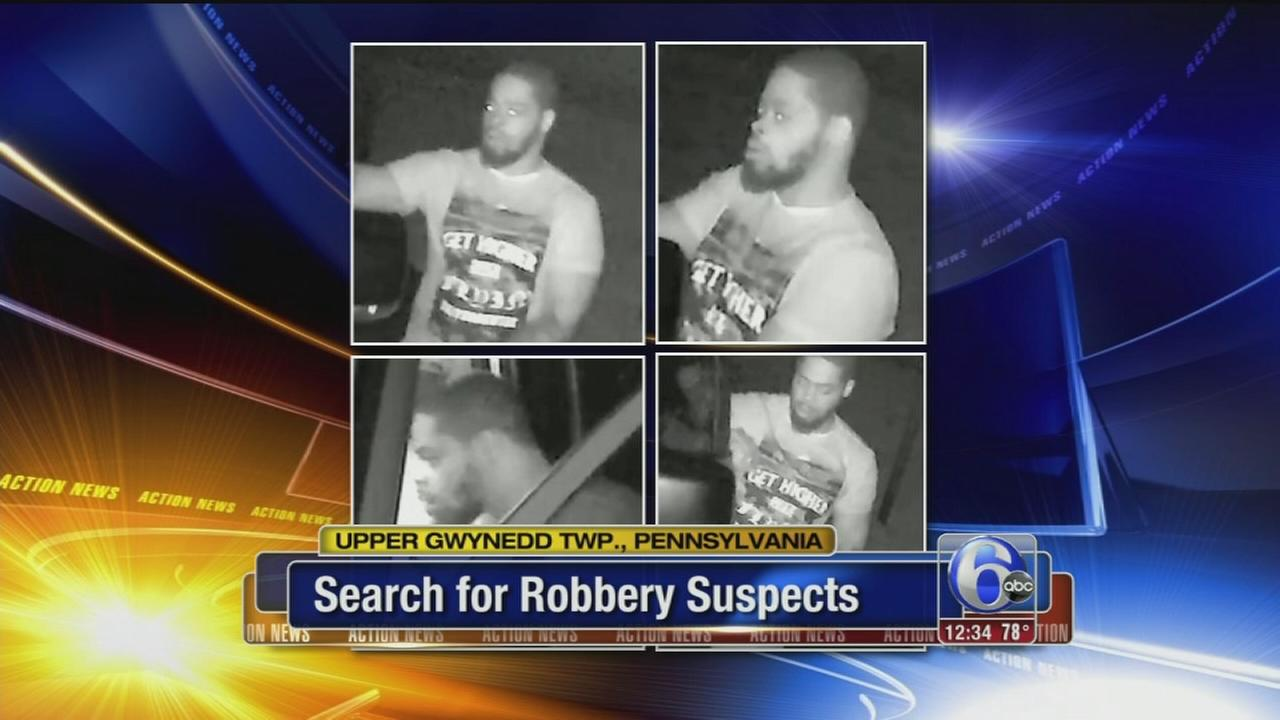 VIDEO:  Car robberies caught on camera