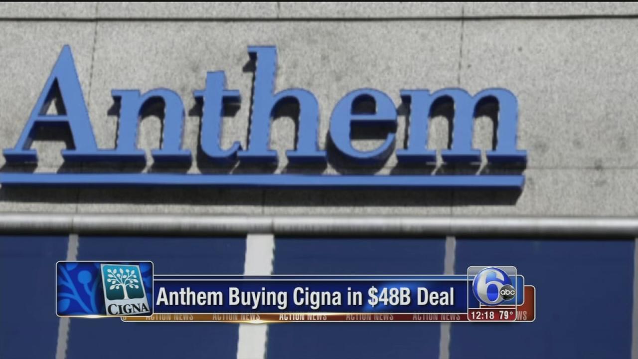 VIDEO: Anthem buying Cigna