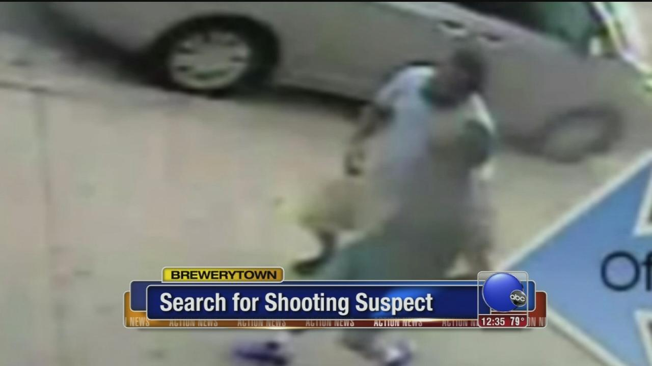 VIDEO: Search for Brewerytown shooting suspect