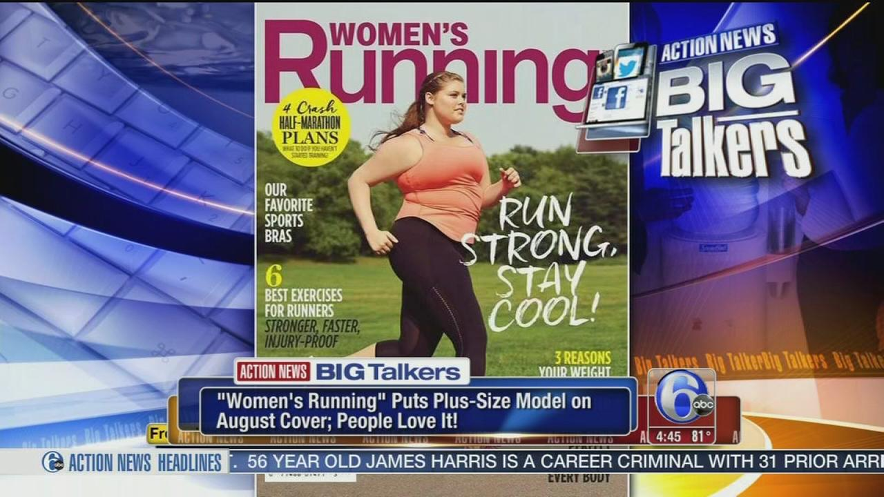 VIDEO: Womens Running magazine puts pluz-size model on cover