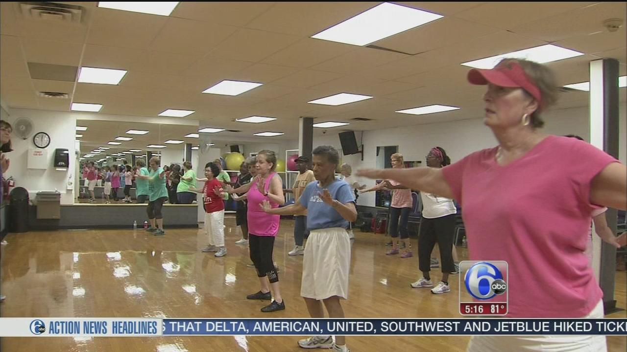 VIDEO: YMCA workout