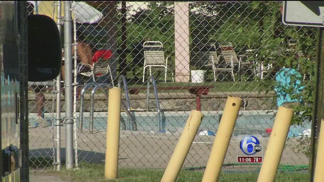VIDEO: Child rescued from pool in Yeadon