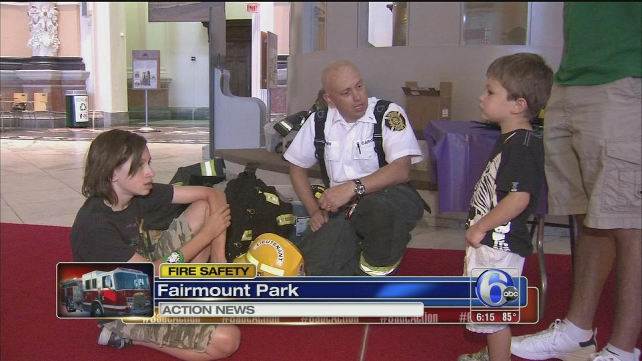 VIDEO: Fire safety lesson at Please Touch Museum