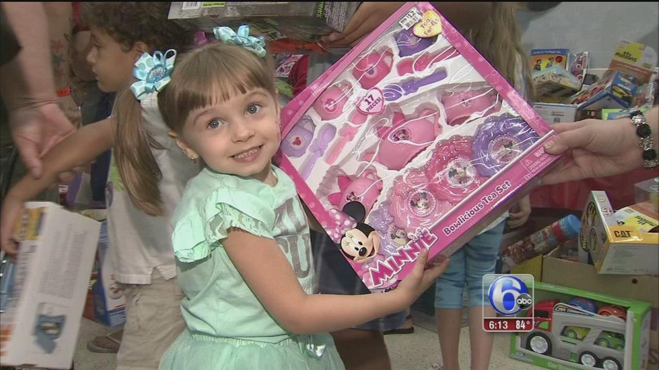 VIDEO: Children at Shriners Hospital get a Christmas in July