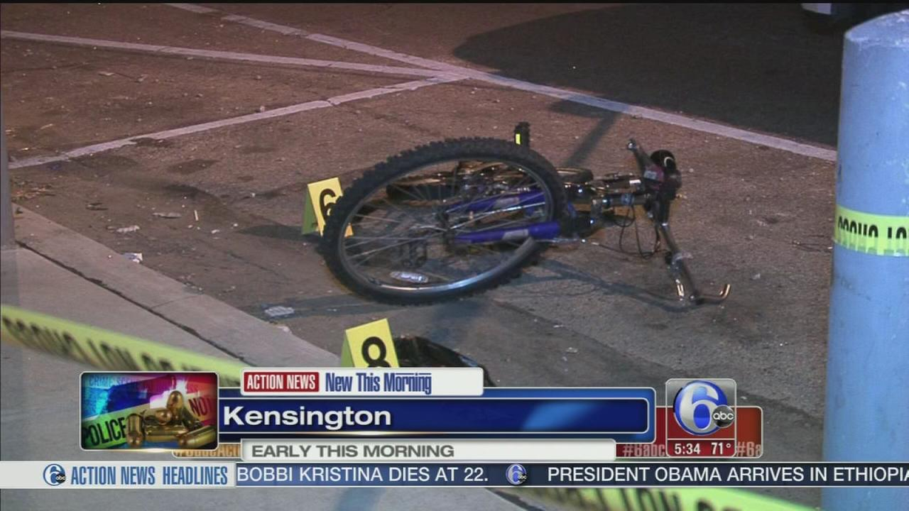 VIDEO: Man, 18, shot in Kensington