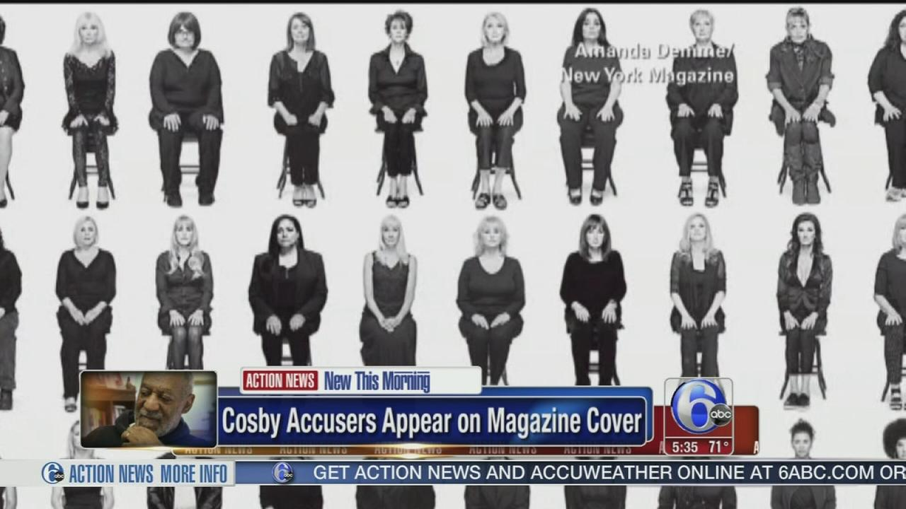 VIDEO: Cosby accusers on cover photo