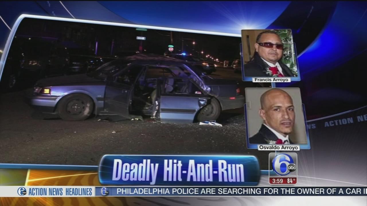VIDEO: Deadly hit and run in Juniata Park