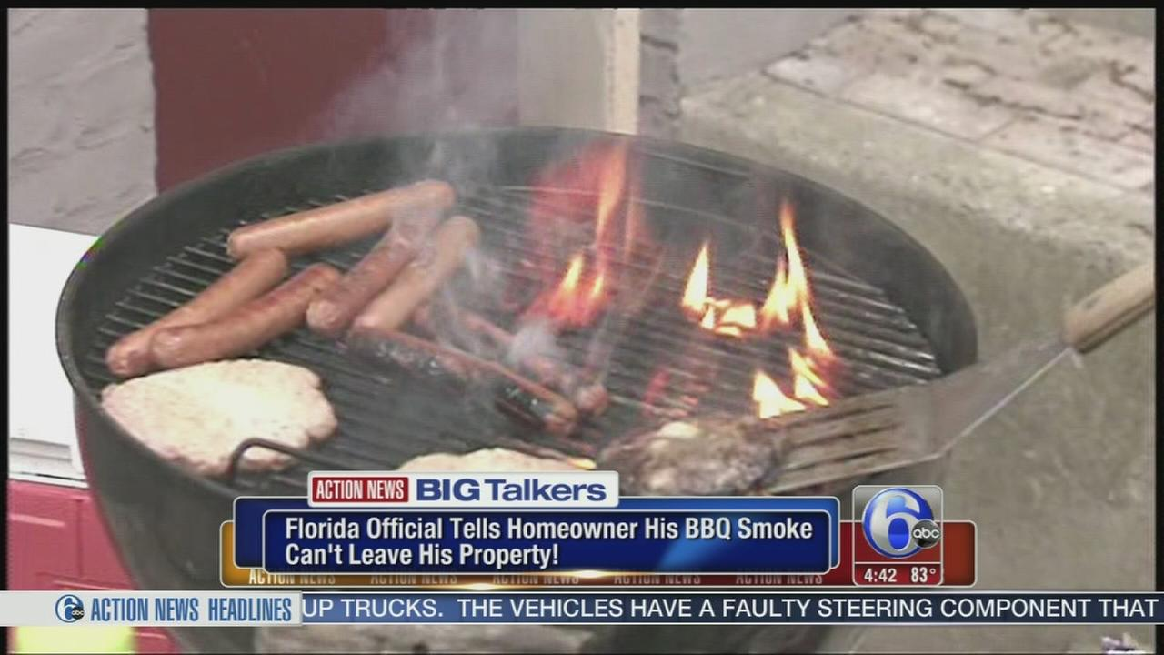 VIDEO: BBQ smoke dispute