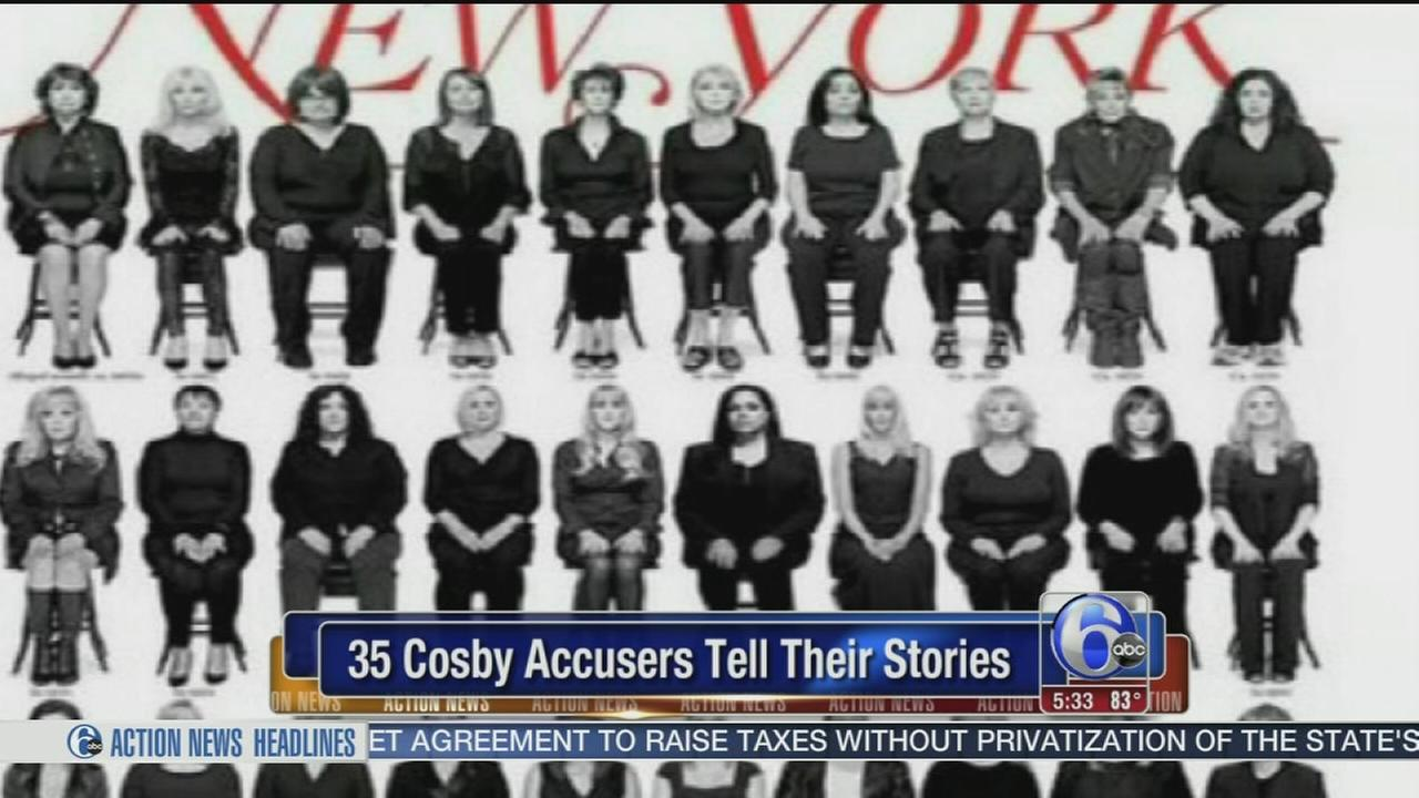 VIDEO: Cosby accusers appear on cover of New York Magazine