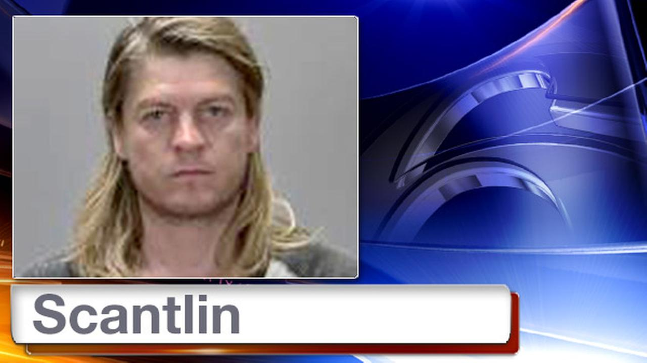 This July 26, 2015 photo provided by the Renville County Jail shows Puddle of Mudd singer Wes Scantlin.