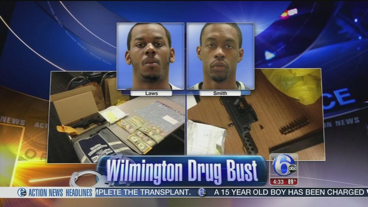 VIDEO: Wilmington drug bust