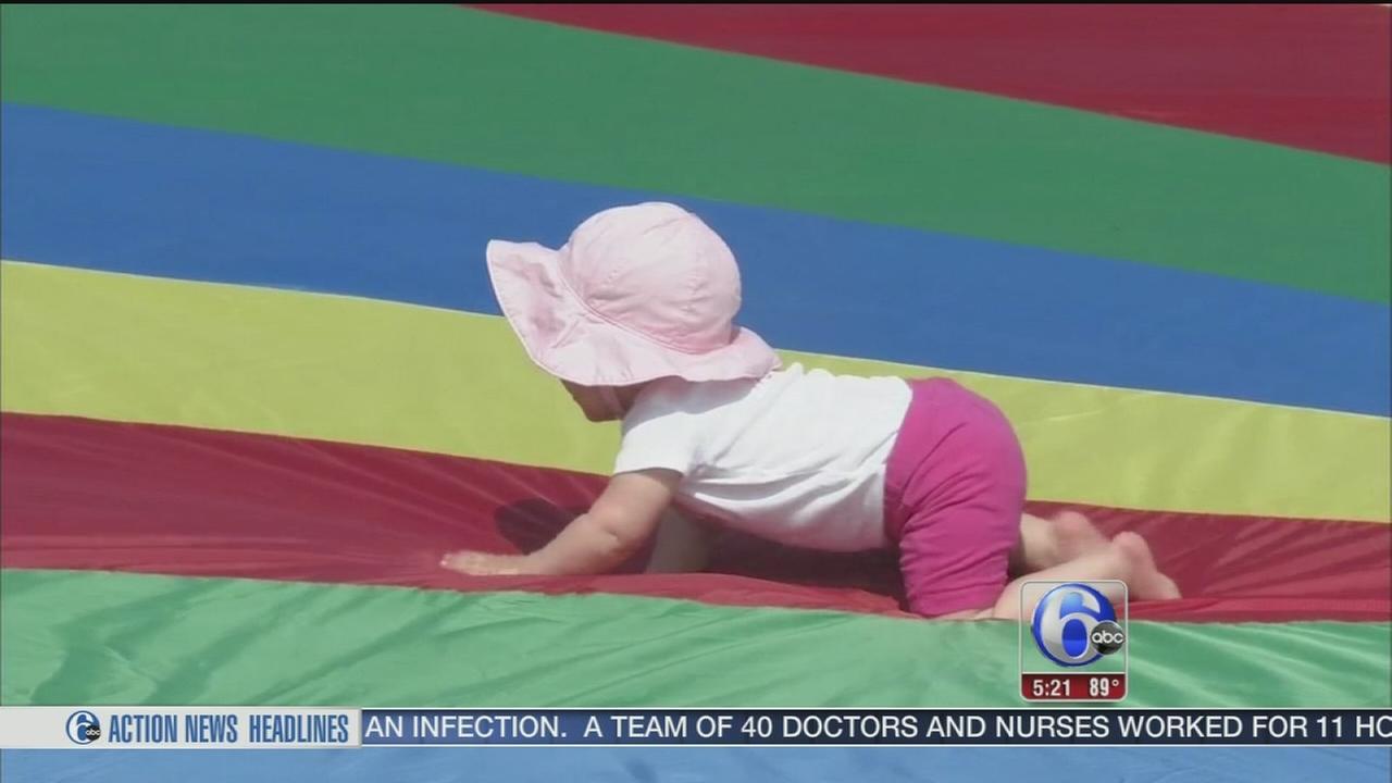 Cute babies stealing hearts in Wildwood, New Jersey
