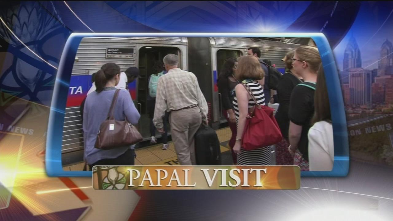 VIDEO: SEPTA reveals plans for papal passes