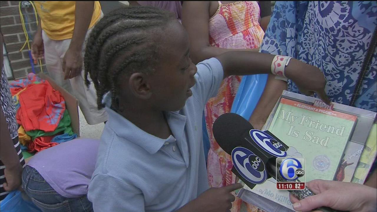 VIDEO: Playstreets aims to get kids reading this summer