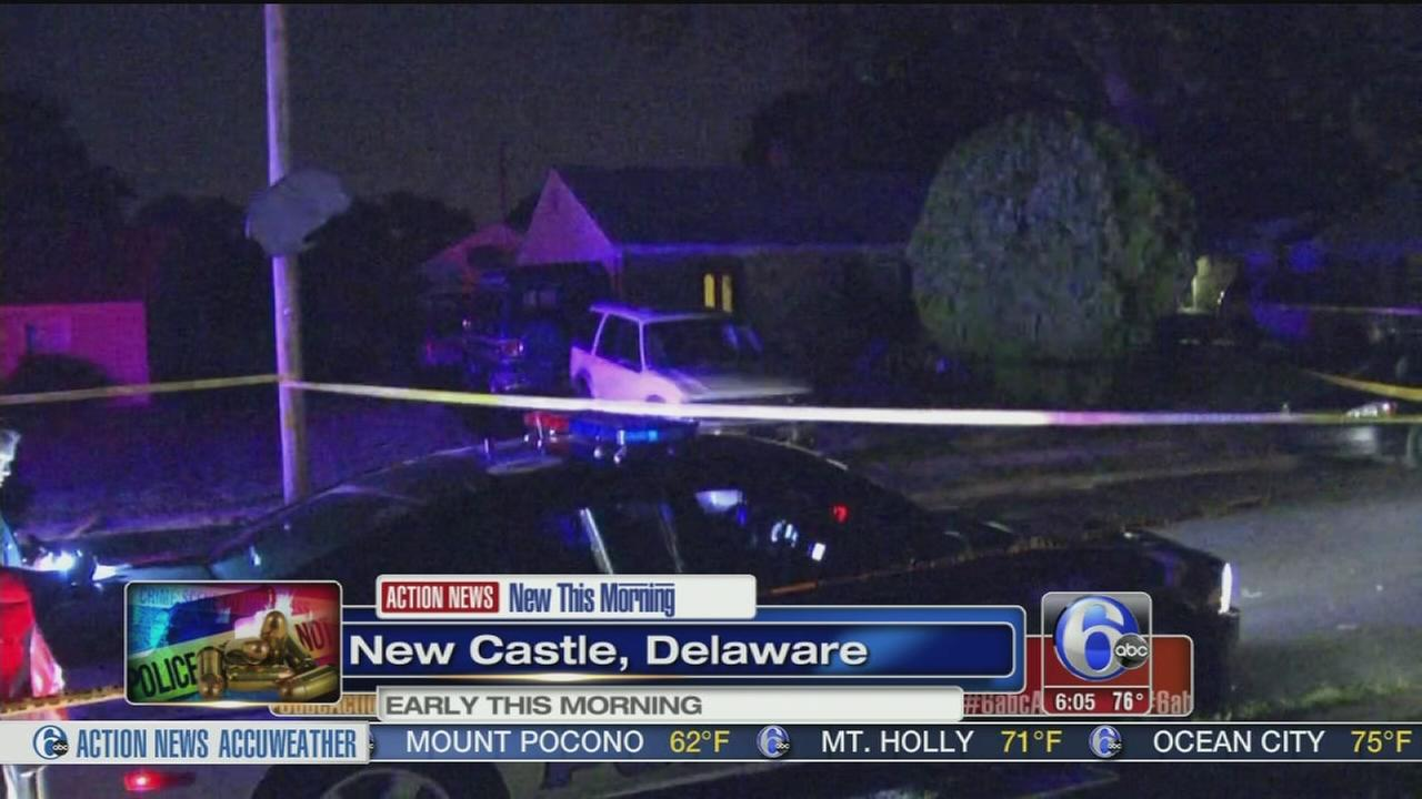 VIDEO: 2 men shot in New Castle, Del.