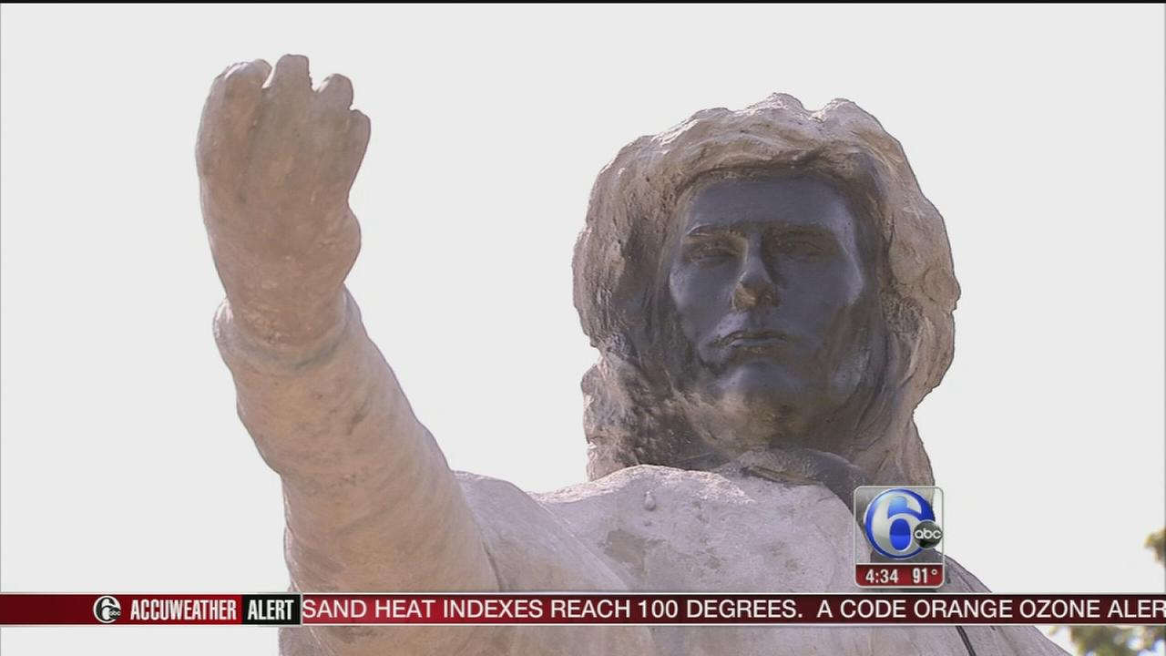 VIDEO: Christopher Columbus statue vandalized