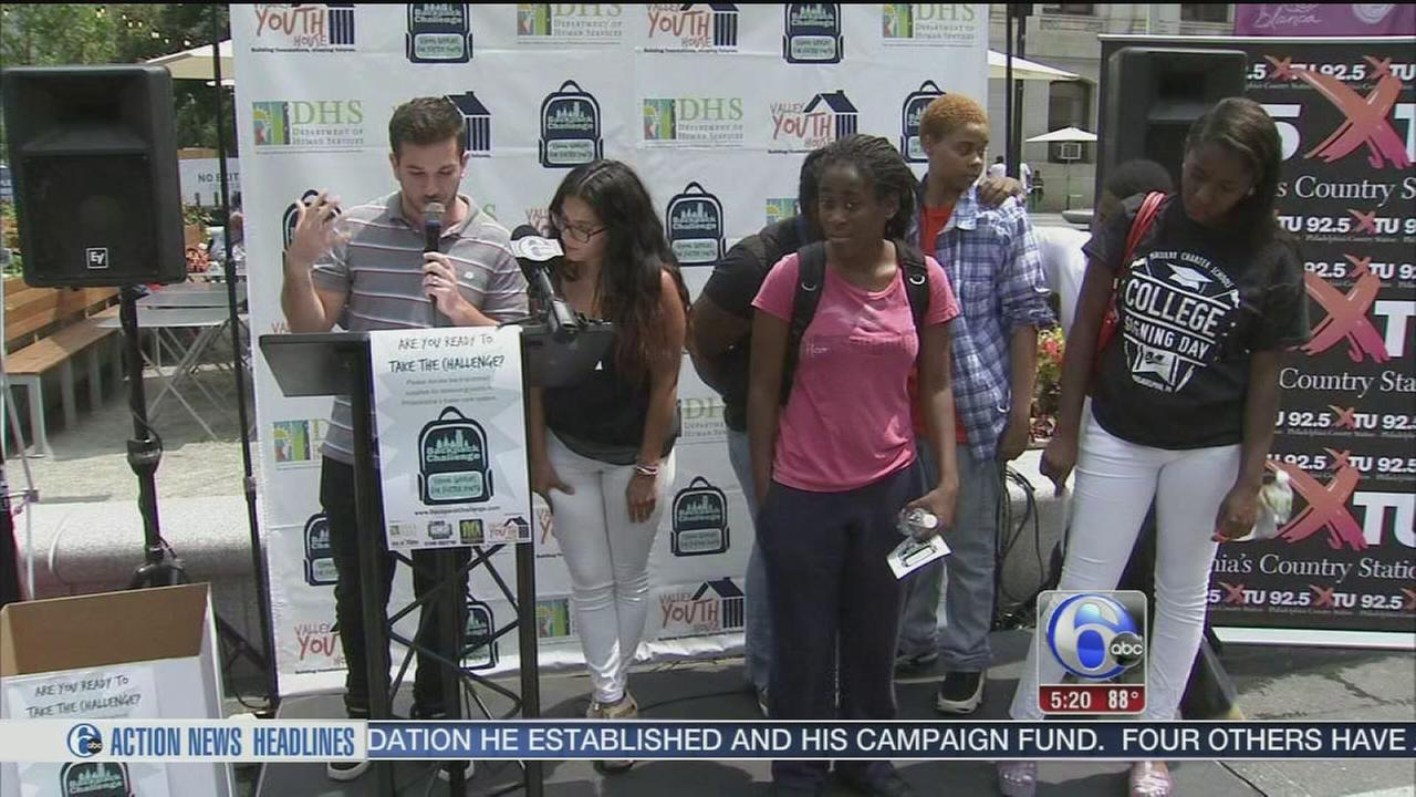 Back-to-school supplies for local foster kids