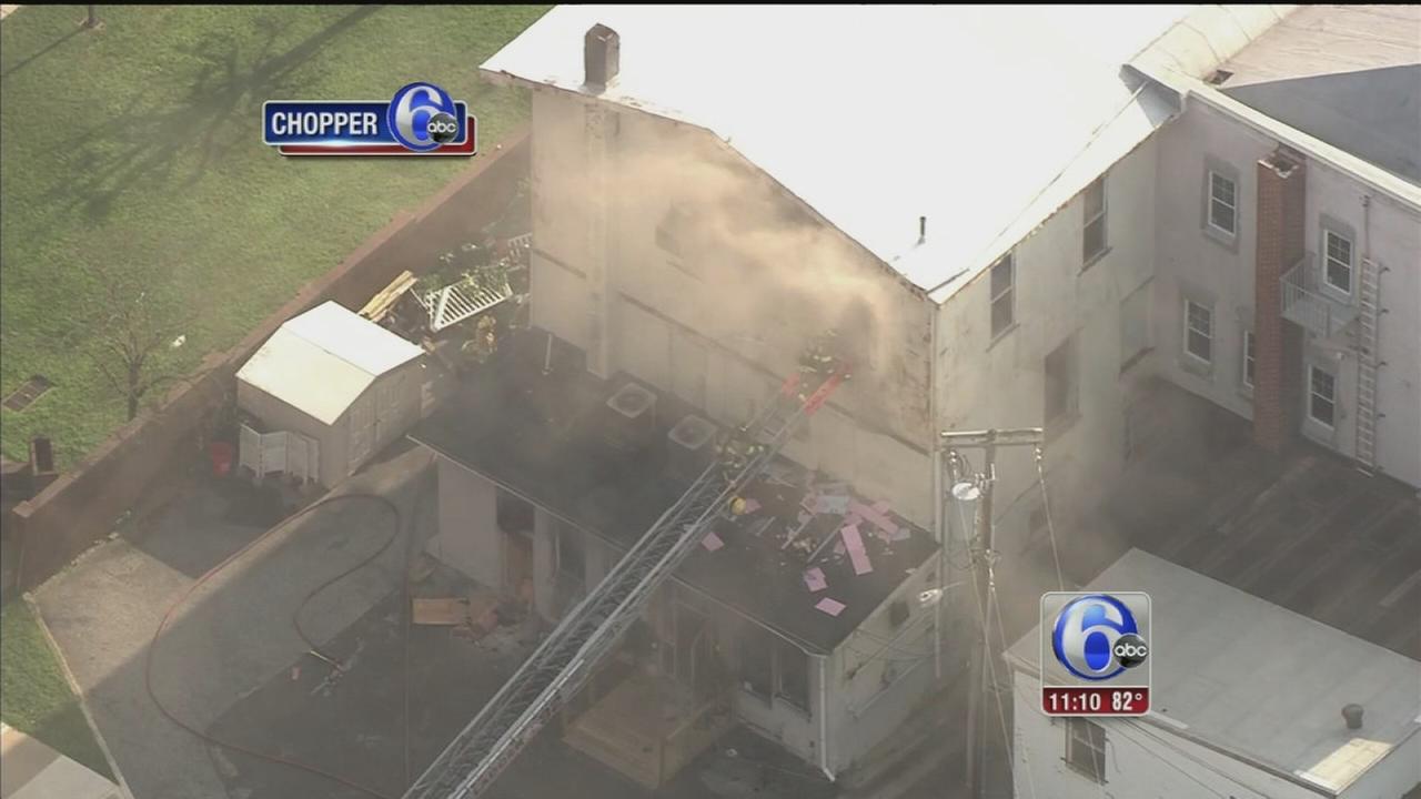 VIDEO: Firefighters battle 4-alarm Millville fire
