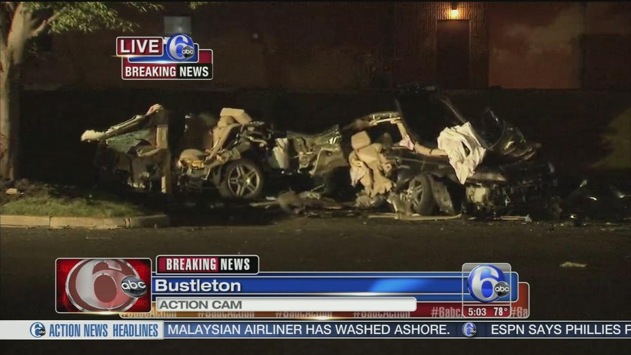 VIDEO: 3 killed, 1 hurt in drag racing crash
