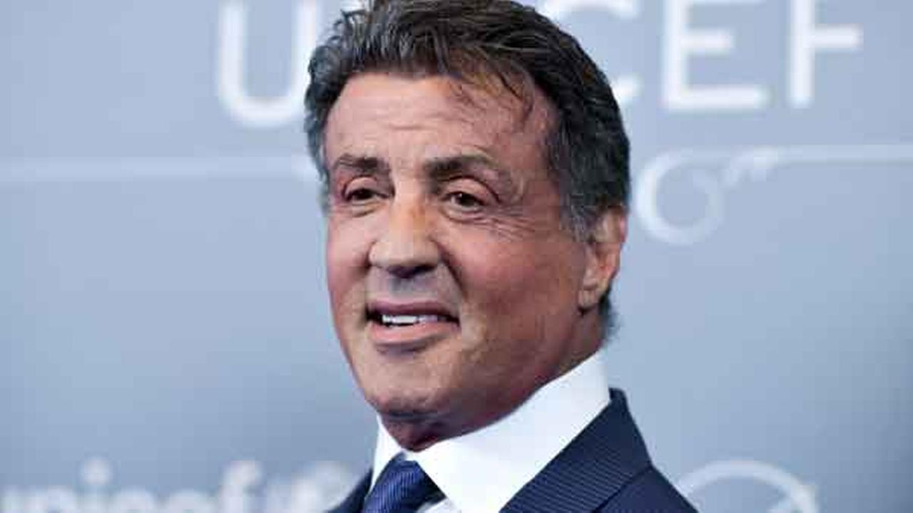 Sylvester Stallone arrives at the 2014 UNICEF Ball in Beverly Hills Calif