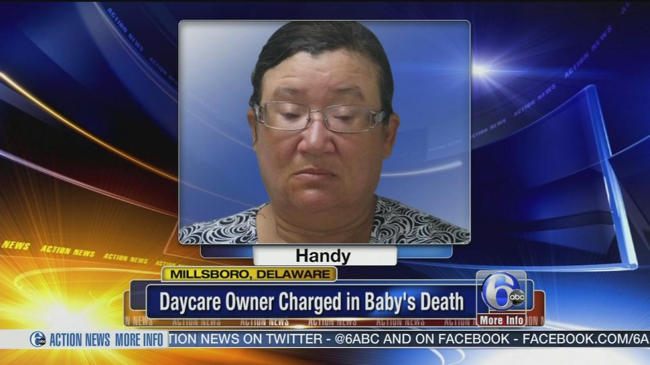 VIDEO: Daycare owner charged in babys death