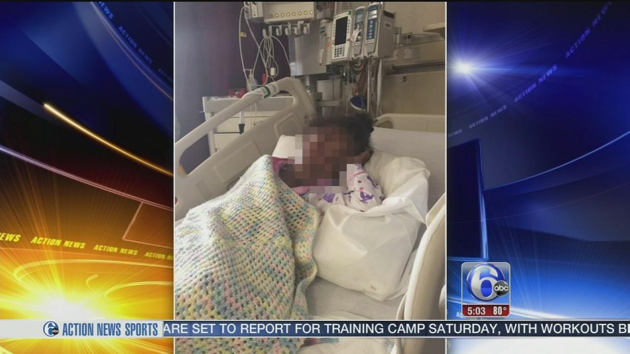VIDEO: Child beaten in North Philadelphia