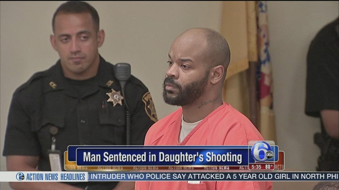 VIDEO: Man sentenced in daughters shooting