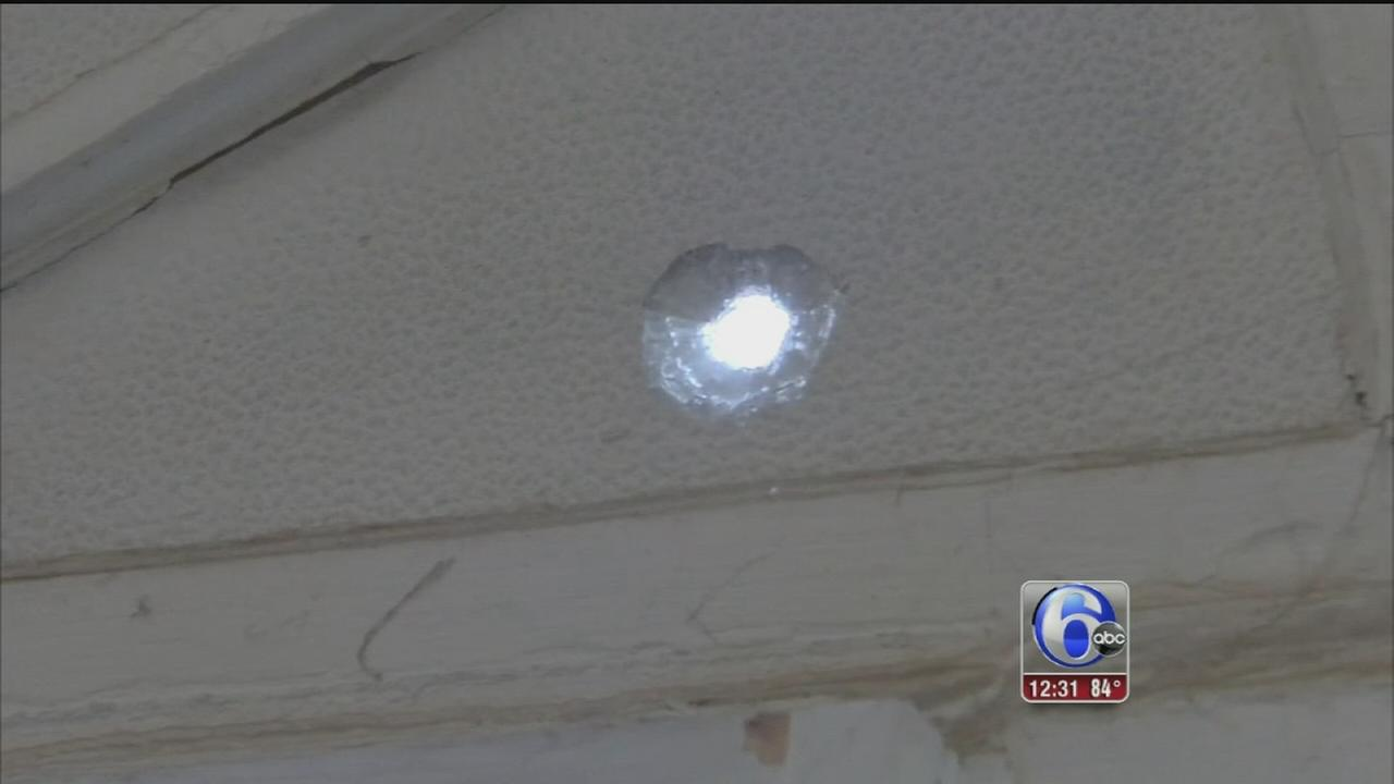 VIDEO: Homes, cars hit by gunfire in Feltonville