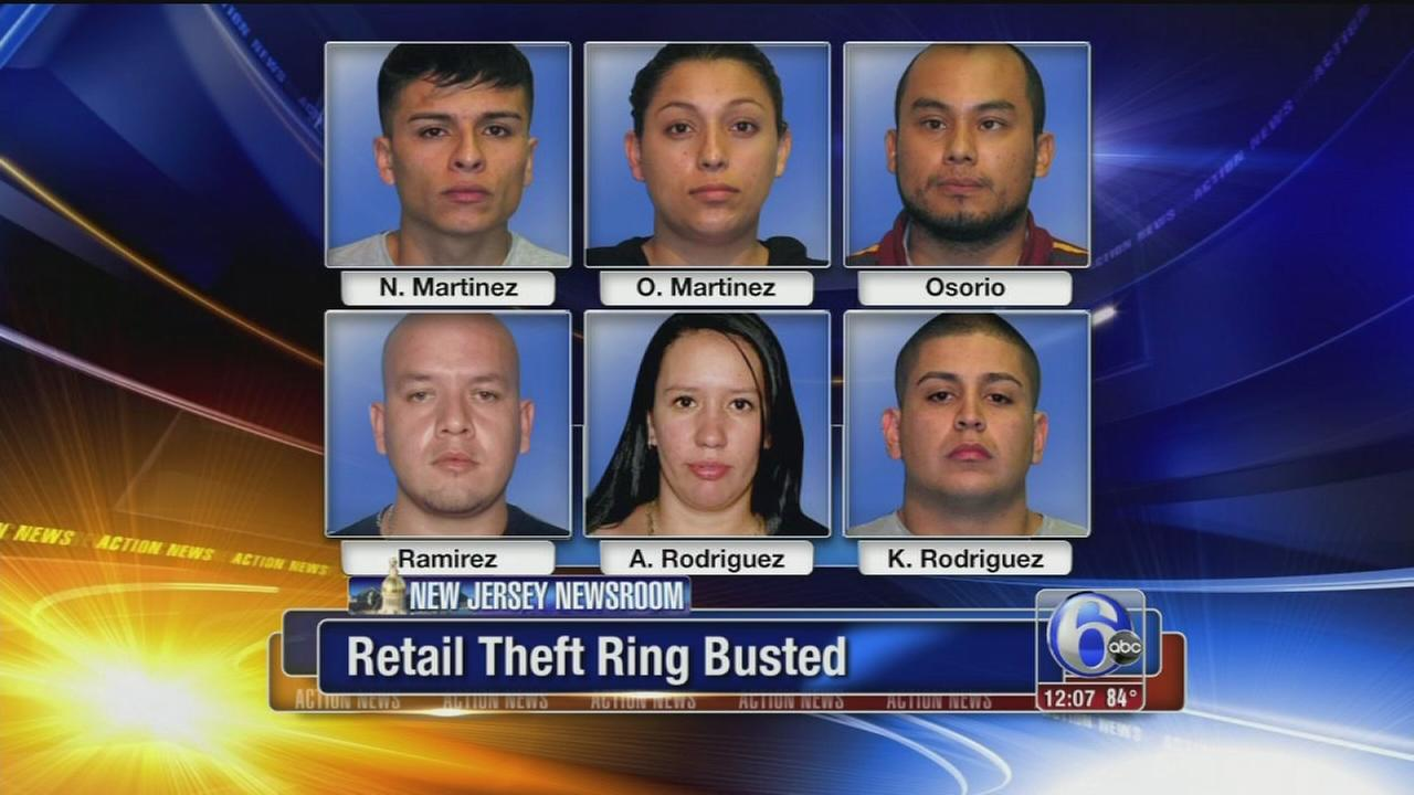 VIDEO: Retail theft ring busted