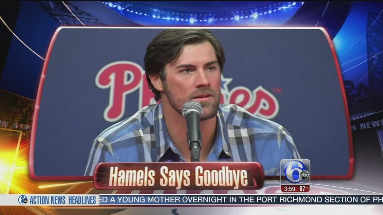 VIDEO: Cole Hamels official traded to Rangers