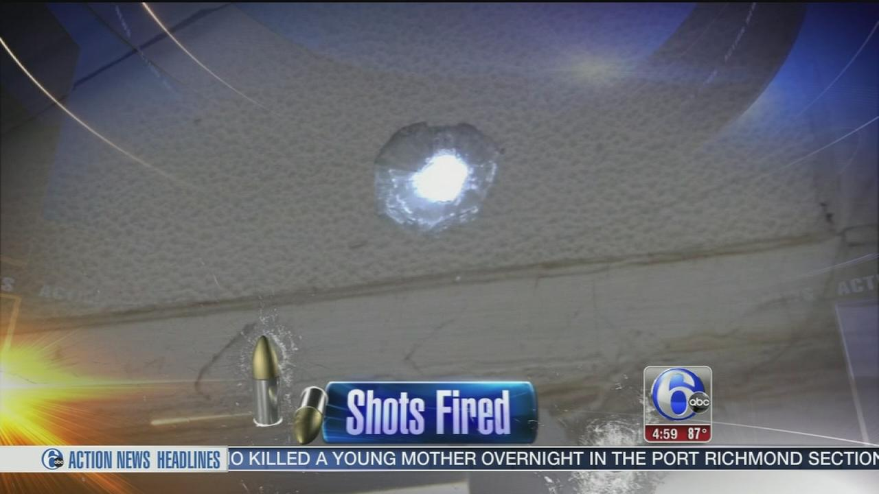 VIDEO: Homes, cars hit by bullets in Feltonville